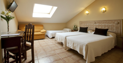 Hotel Princesa Galiana - Triple room with extra